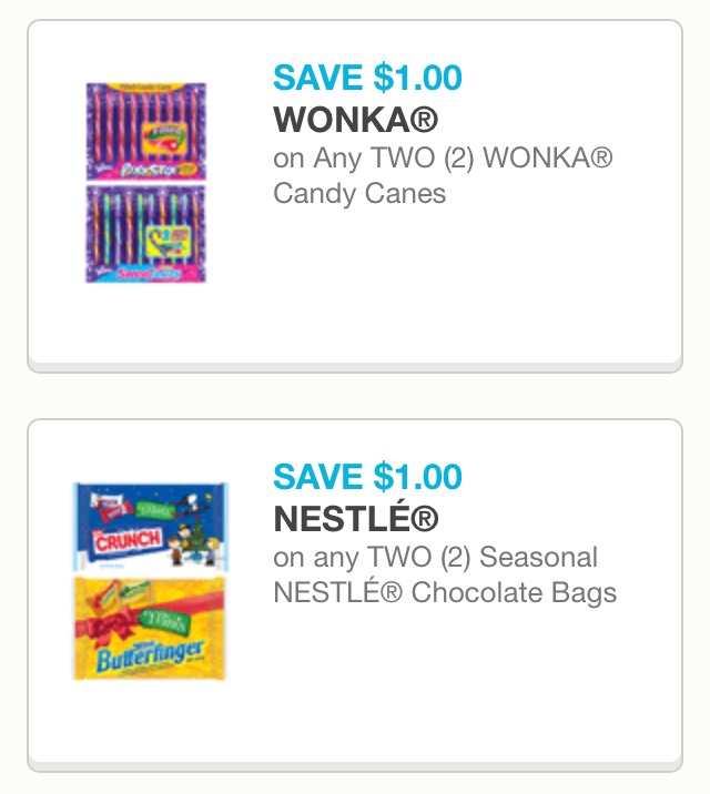 image relating to Printable Candy Coupons identified as Printable Xmas Sweet Discount codes The Mad Coupon Girl of OC